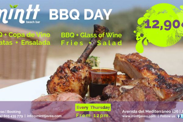 Mintt BBQ Day | Now Every Thursday