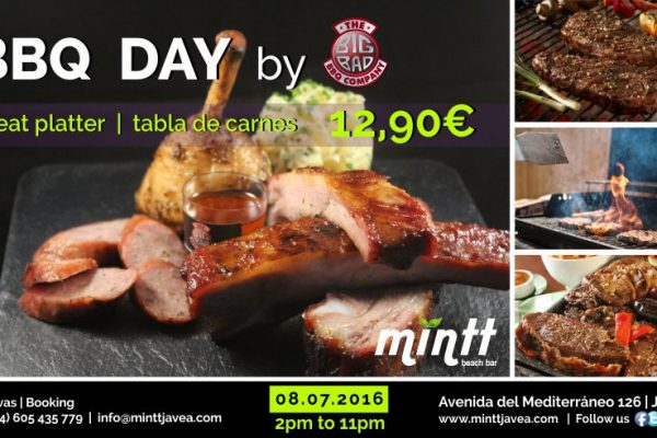 BBQ Day at Mint Beach Bar