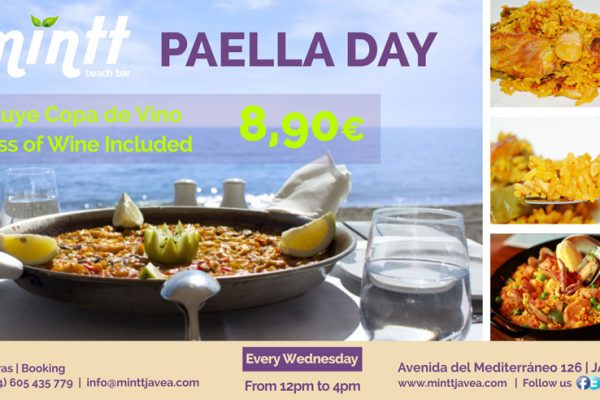 NEW | Paella Day | Every Wednesday