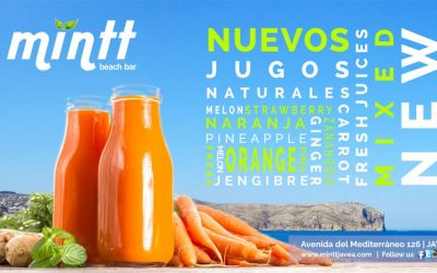 New Fresh Juices Mixed at Mintt